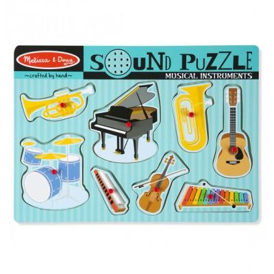 Casse-tête sonore: Les instruments de musique