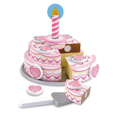 Ensemble gâteau d'anniversaire