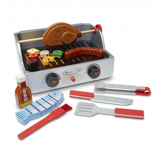 Ensemble rôtisserie et grill