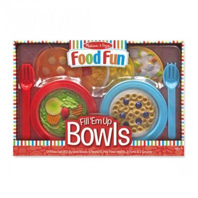 Ensemble pour créer des repas (bols)