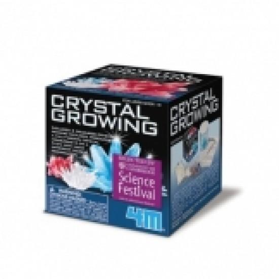 Croissance de cristaux: petit ensemble