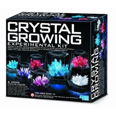 Croissance de cristaux: Gros ensemble
