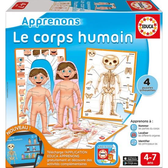 Apprenons: Le corps humain
