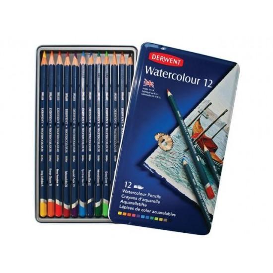 Crayons aquarelle Derwent/ 12
