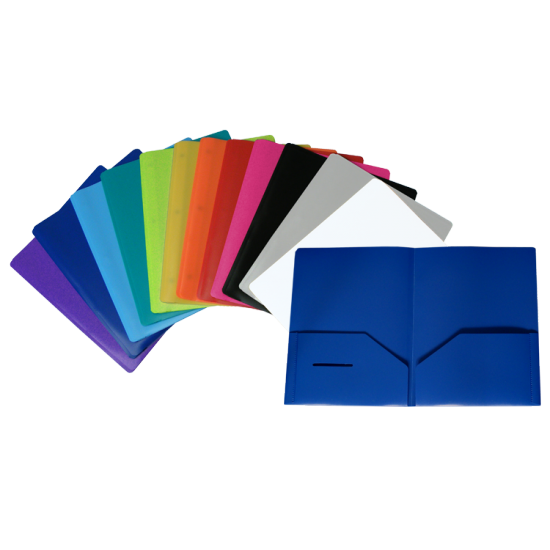 Porte-folio plastique