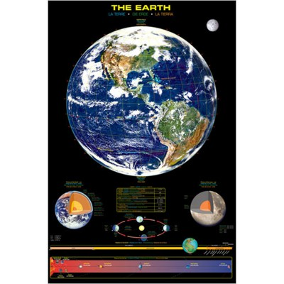 Affiche : La  Terre