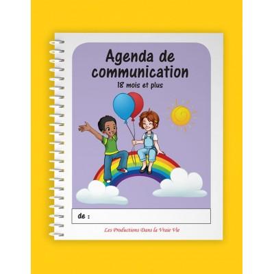 Agenda de communication 18 mois+