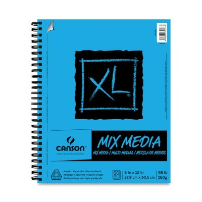 Cahier XL Mix-Media : 9x12""