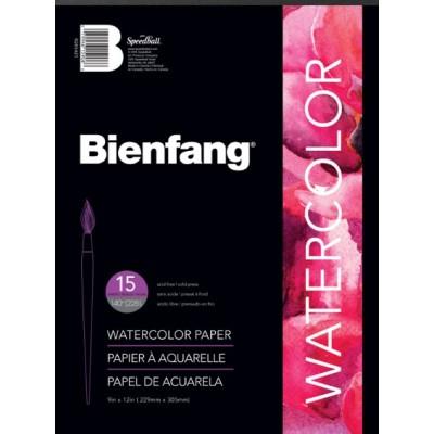 """Papier Aquarelle Bienfang : 11x15"""""""