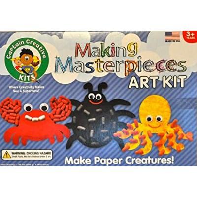 Ensemble Nouilles Magiques Créatures en papier