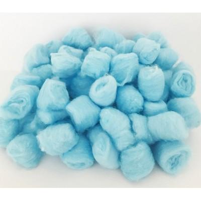 Boules d'ouate - Bleu ciel /200 pièces