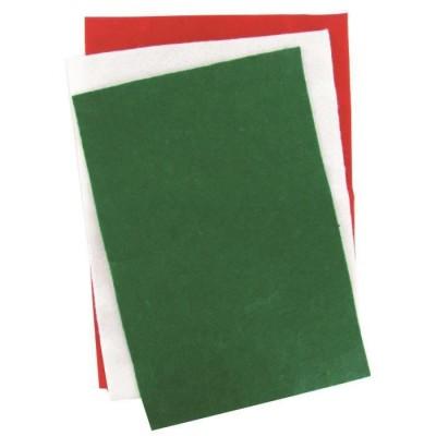 Feutrine Assortiment de Noel 23 x 30 cm /50