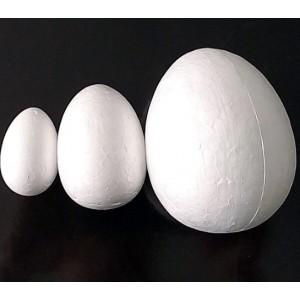 Œuf Styromousse, 5x7 cm (Moyen)