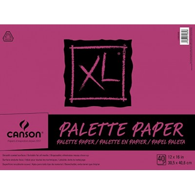 Papier Palette Canson XL - 40 pages 12x16''