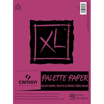 Papier Palette Canson XL - 40 pages 9x12