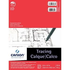 """Papier Calque Canson : 9x12"""""""