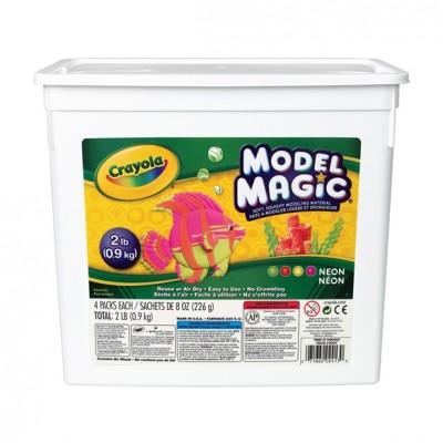 Model Magic : 4 x 226g (Couleur Fluo)