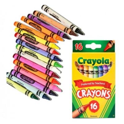 Ensemble de Crayons de Cire Crayola : 16