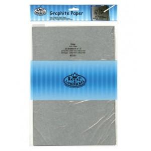 Papier Graphite Gris 9x13'' /20 feuilles