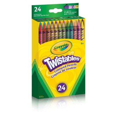Ensemble de Crayons de Couleur Twist Crayola : 24