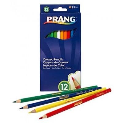 Ensemble de Crayons de Couleur en Bois Prang: 12