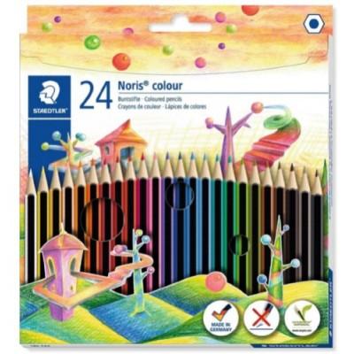 Crayons de Couleur Staedtler Noris (ens. de 24)