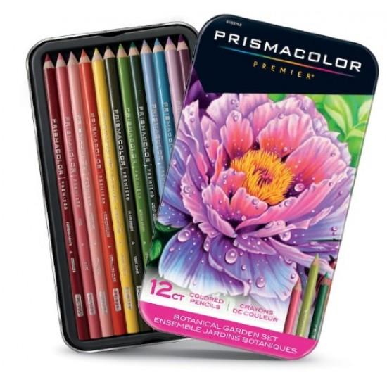 Ensemble 12 Crayons Prismacolor - Jardins Botaniques