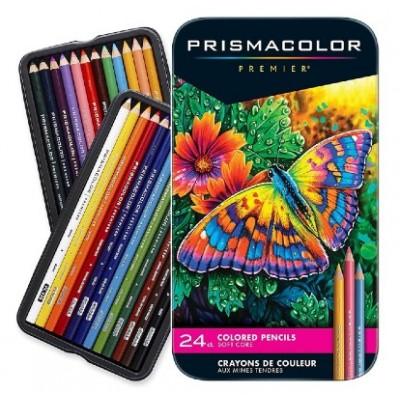 Ensemble Crayons Prismacolor Premier /24