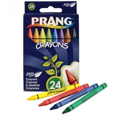 Ensemble de Crayons de Cire Prang : 24