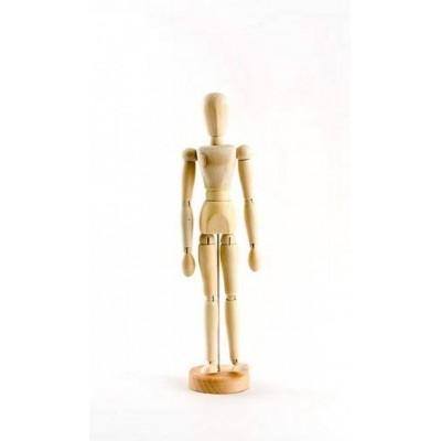 """Mannequins Articulés en Bois : FEMME 12"""""""