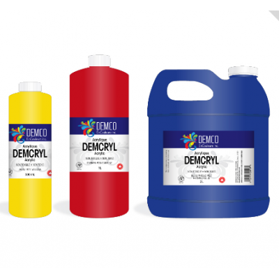 Peinture Acrylique Demcryl - 1 litre