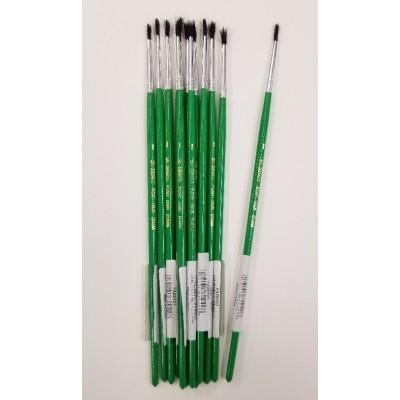 Pinceau Scolaire Demco 251 #1 - 12 pinceaux