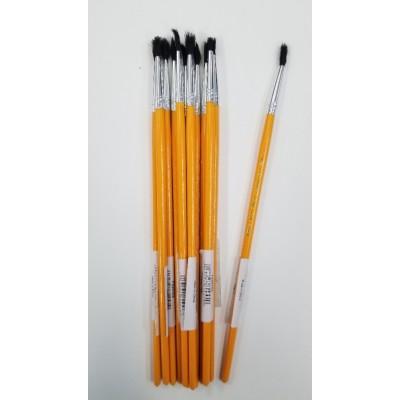 Pinceau Scolaire Demco 251 #4 - 12 pinceaux