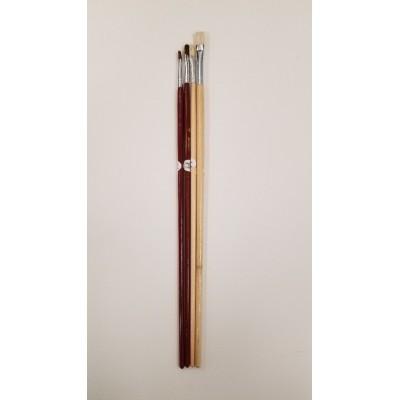 Pinceau Scolaire Artist's Choice - 4 pinceaux