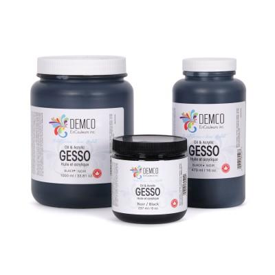 Gesso Demco Noir - 3.6 litres