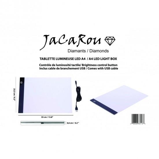 Tablette Lumineuse LED A4 9x13