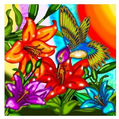 Diamond Art Jacarou - Colibri