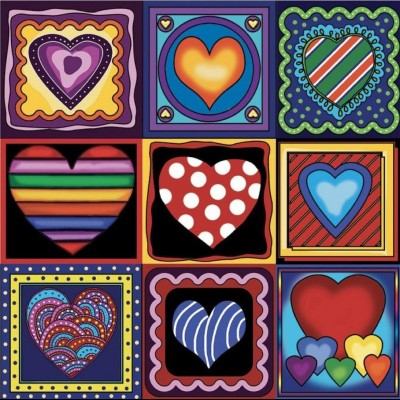 Diamond Art Jacarou - Love Love Love