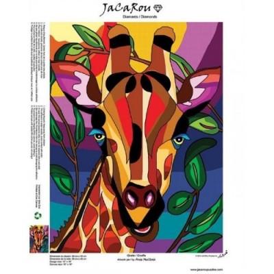 Diamond Art Jacarou - Girafe