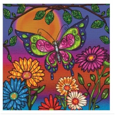 Diamond Art Jacarou - Papillon