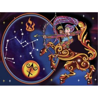Diamond Art Jacarou - Collection Zodiaque - Sagittaire