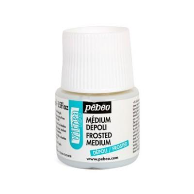 Médium Dépolissant Vitréa160  de Pébéo - 45ml
