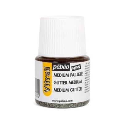 Médium Vitrail Pailleté Pébéo - 45ml