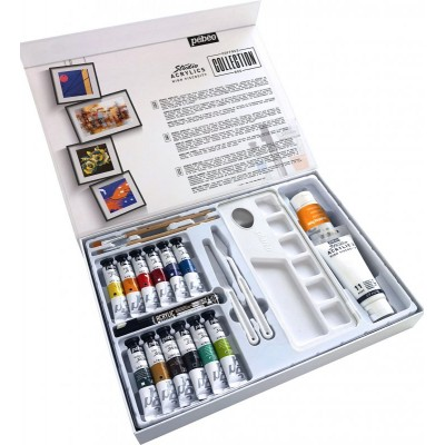 Coffret Collection Acrylique Studio
