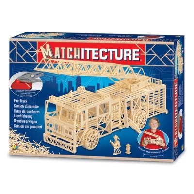 Matchitecture: Camion d'incendie