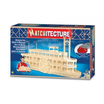 Matchitecture : Bateau du Mississippi