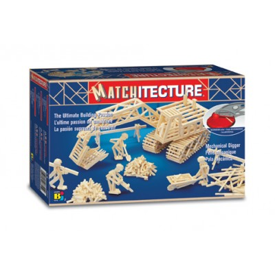 Matchitecture : Pelle mécanique