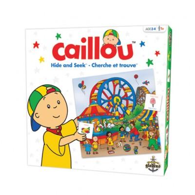 Cherche et trouve: Caillou