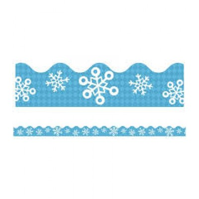 Bordure : Flocons de Neige