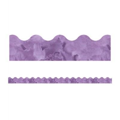 Collection Galaxy : Bordure - Violet Aquarelle